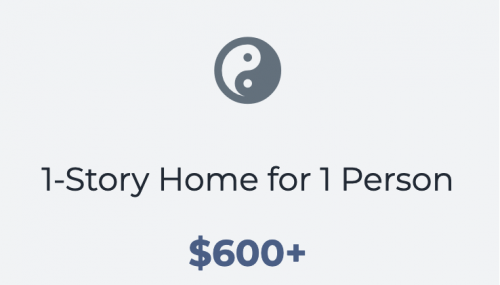 1 Story Home for 1 Person